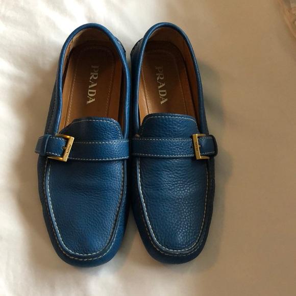 Prada Shoes   Like New Mens Blue